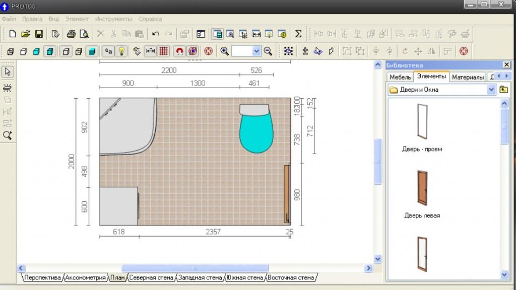 Программа для проектирования дизайна ванной комнаты