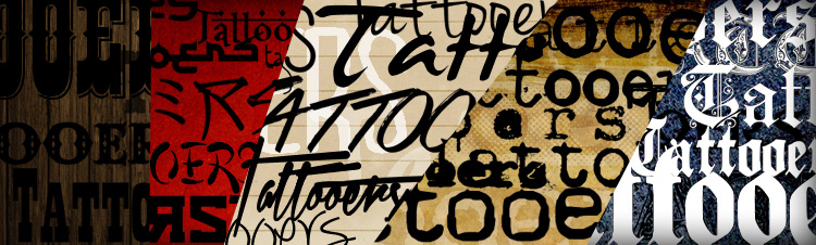 adobe photoshop шрифты: