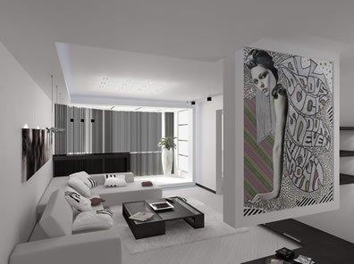 Стиль в дизайне интерьера минимализм